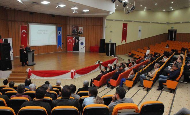 BÜ'de marka ve patent tescili eğitimi düzenlendi